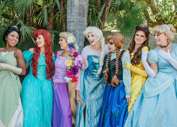 Our Tampa Princesses for Hire
