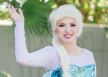 Hire Elsa for Party | Ice Queen | Tampa Princess Parties