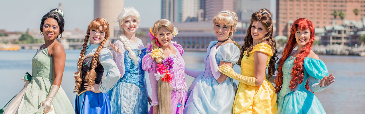 Tampa Birthday Party Princess Entertianment from Parties with Character