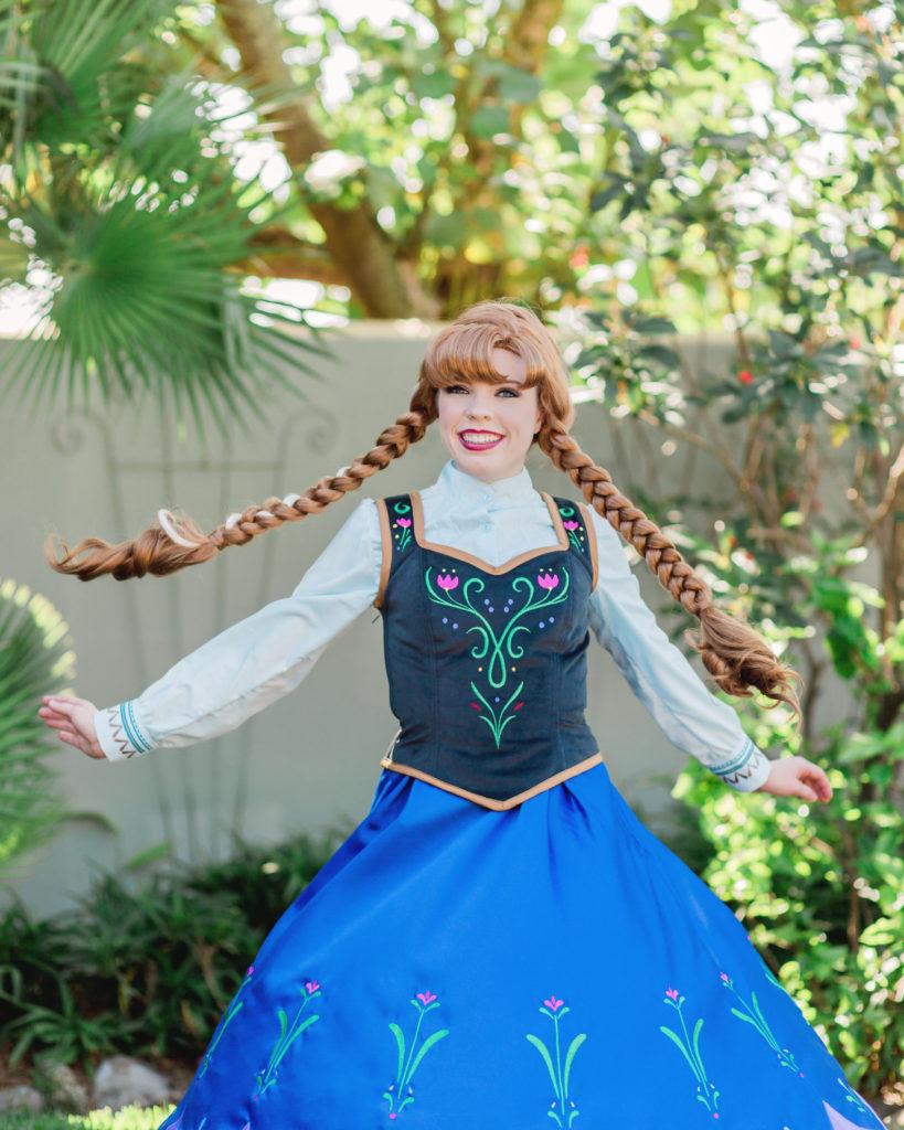 Ice Princess Anna Parties