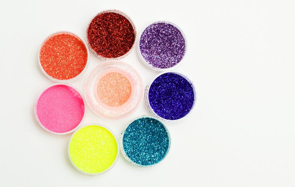 DIY Edible Princess Glitter or Fairy Dust
