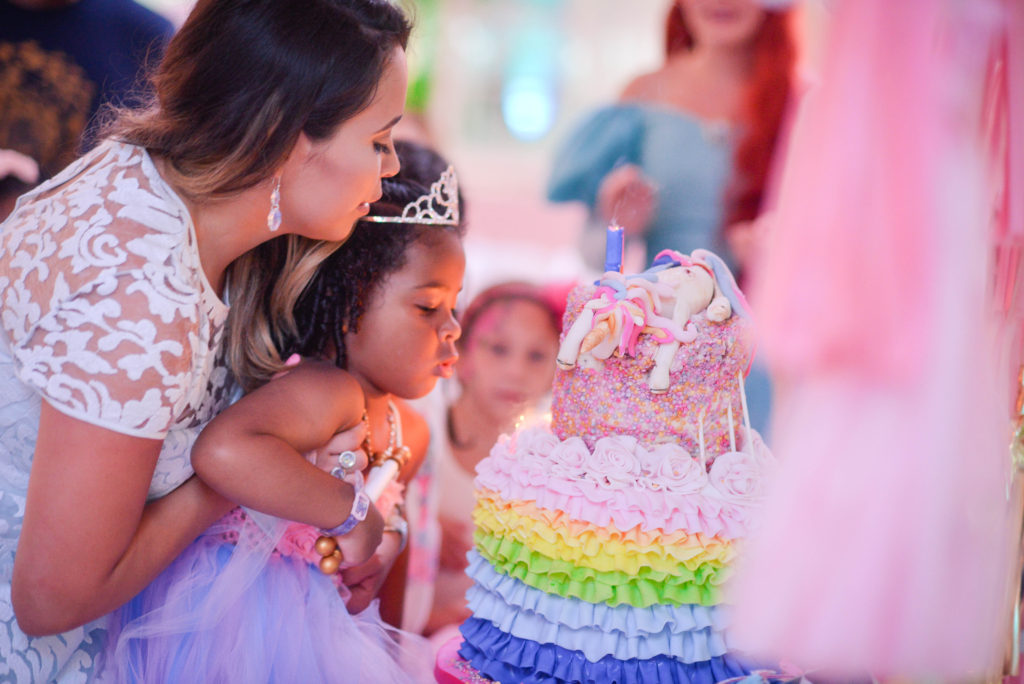 Tampa Princess Birthday Party Cake by Chocolate Pi