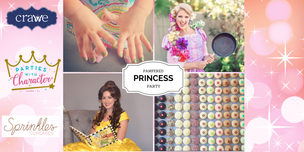 Pampered Princess Party in South Tampa